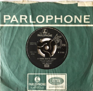 "Beatles (The) ‎- A Hard Day's Night (7"") (G-/G)"